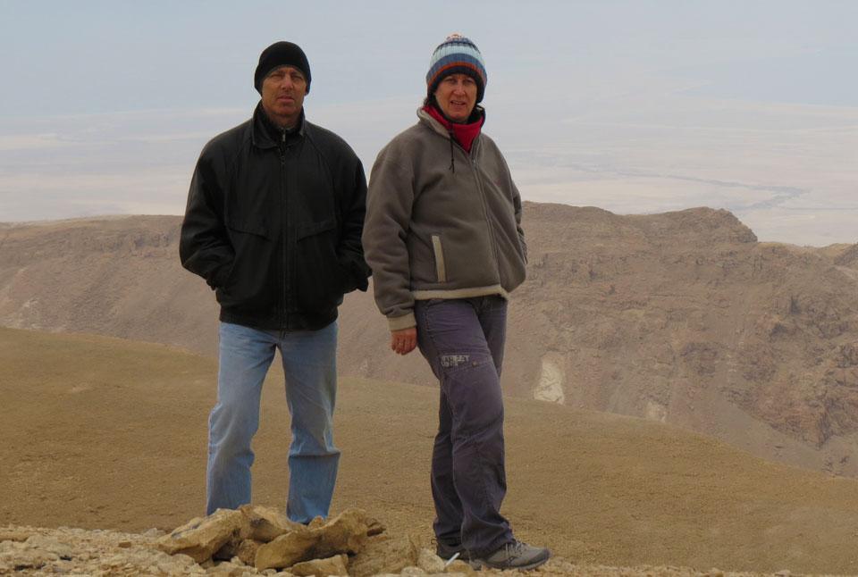 Lisa & Bruce - Co Owners of Israel Travel Secrets