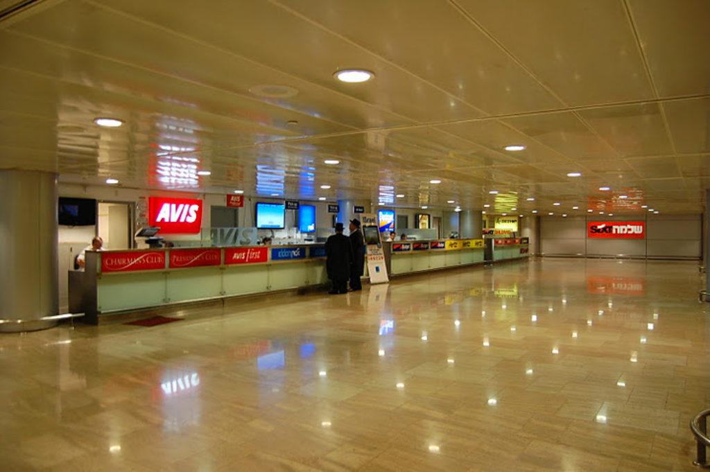 car rental ben gurion airport  Ben Gurion Airport - Israel Travel Secrets
