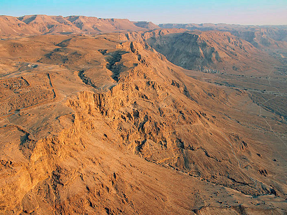 Sunrise Masada