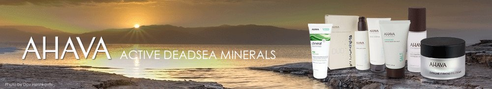 Ahava Dead Sea Products