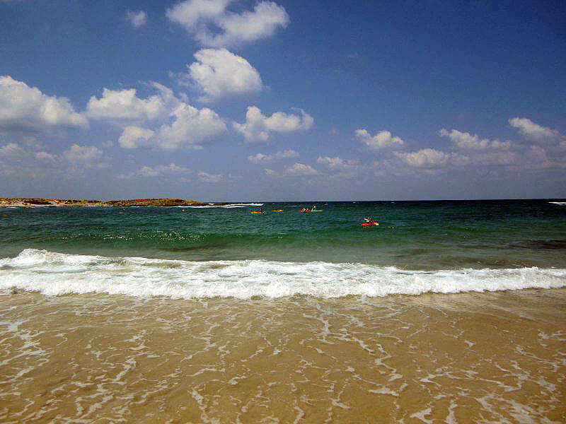 Nachsholim beach Israel