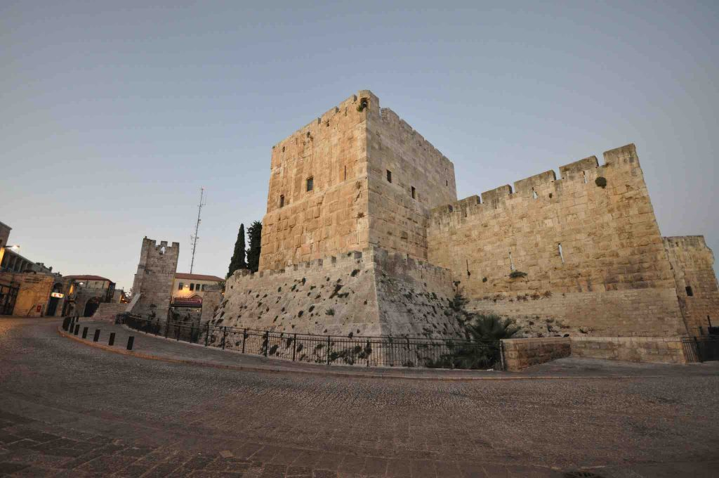 Tower of David by Jorge Lascar