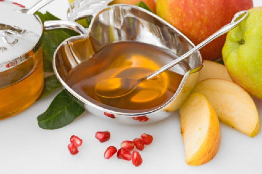 Rosh Hashana - apple and honey