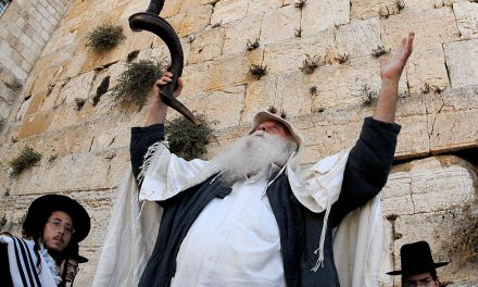 """Slichot"" Prayer at the Kotel - Courtesy of GPO"