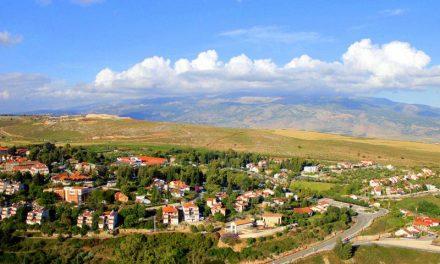 Metuala Lookout by the Lebanon Border