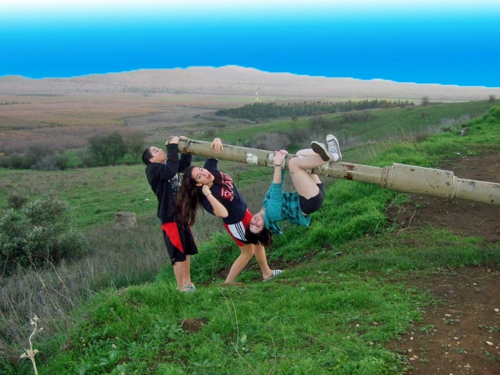 The Golan Heights - An Old battle field but a New Playground for my children