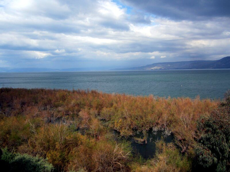 The Sea of Galilee Lake Kinneret