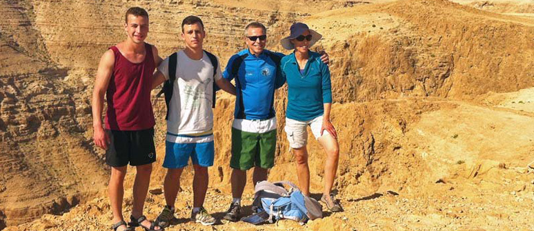 Wadi Darga Challenging One Day Private Hiking Tour