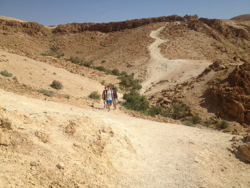 Wadi Dargot - start of the hike