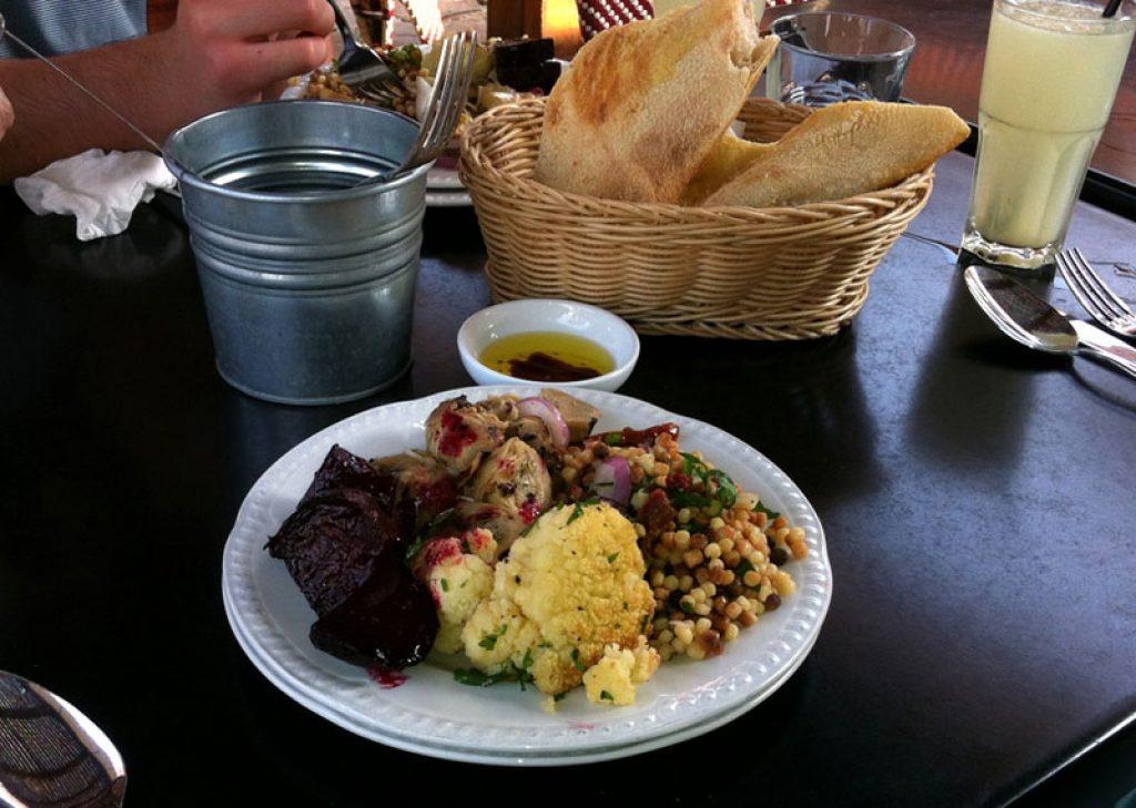 Antipasto Salad at Manuellas