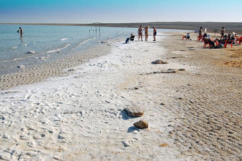 Ein Gedi Beach at the Dead Sea