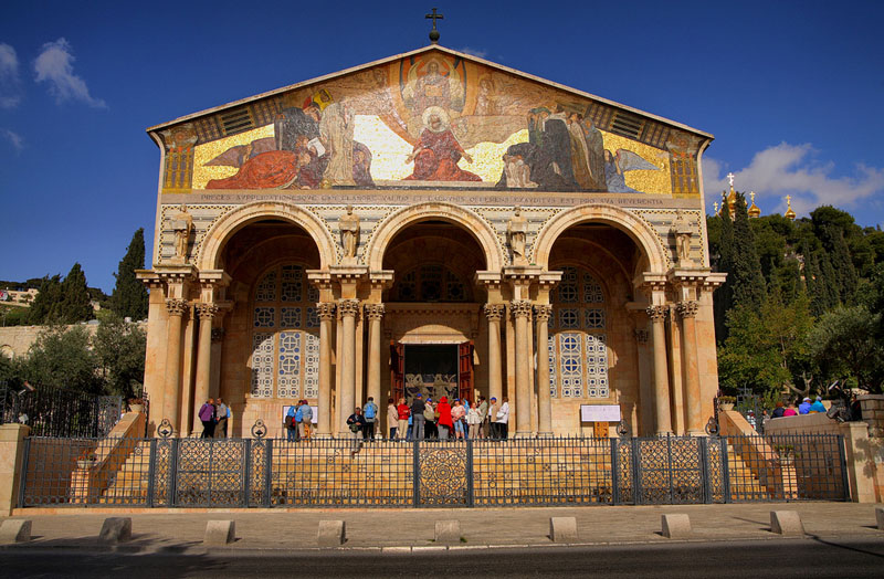Gethsemane and the Church of all Nations by Israeltourism on Flickr