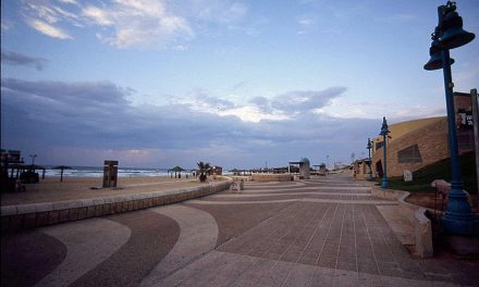 The Namal Tel Aviv to the Yafo Port on Bike