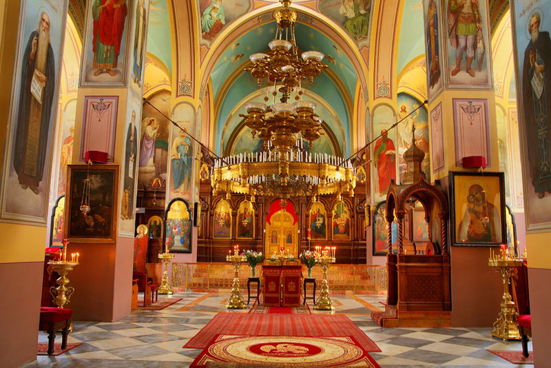 Russian Orthodox Holy Trinity Cathedral in Jerusalem by Isaeltourism on Flickr