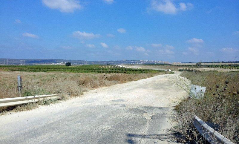 The Trail near Bat Shlomo