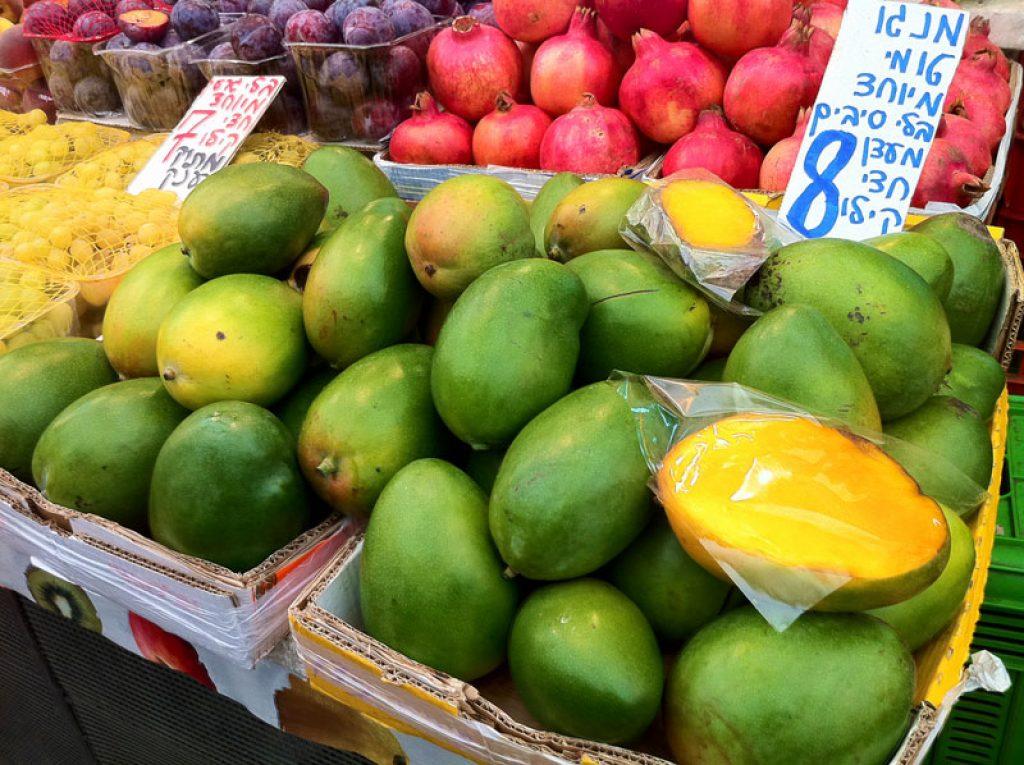 Israel fruit market