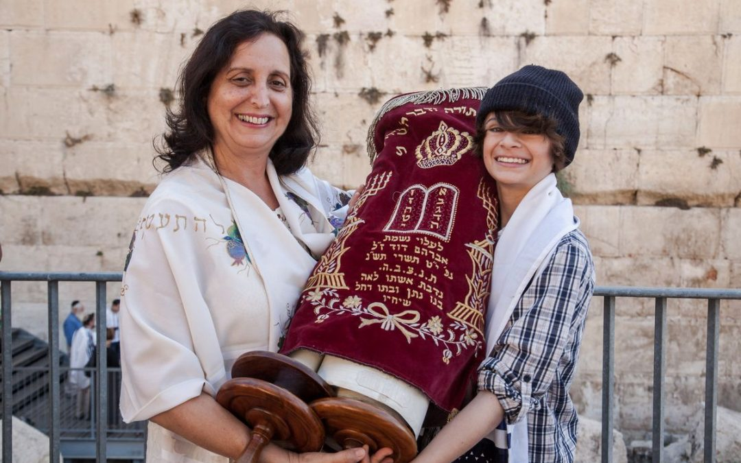 Barmitzvah at Kotel and Bat Mitzvah