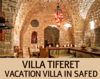 Rental Villa in Safed